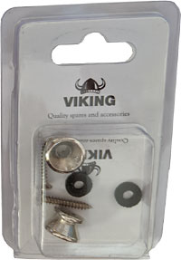 Viking GSB-10N Nickel Strap Buttons, Pair