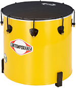 Contemporanea Surdo 16inch x 40cm. Yellow. Napa