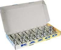 Atlas Plastic Silver Kazoo, 12per box