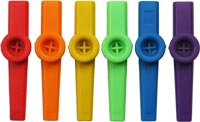 Atlas Plastic Coloured Kazoo Single