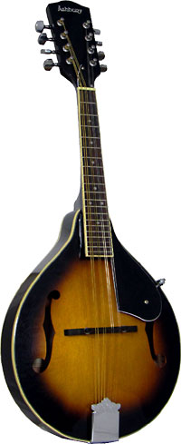 Ashbury AM-10SB A Style Mandolin, Sunburst