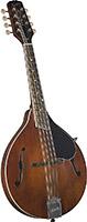 Kentucky KM-256 Deluxe A Model Mandolin. Brown