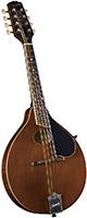Kentucky KM-276 Deluxe A Model Mandolin. Brown