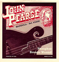 John Pearse 2240 Tenor Mandola Strings, Phos