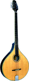 Ashbury AM-375 Irish Bouzouki, Flat Top