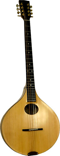 Ashbury INISHMORE Carved Irish Bouzouki