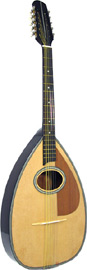 Blue Moon BC-12 Cittern, Pear Shaped Body, 10s