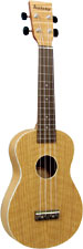 Ashbury AU-40 Concert Ukulele, Flamed Oak