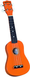 Diamond Head DU-103 Soprano Ukulele, Orange
