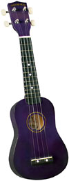 Diamond Head DU-108 Soprano Ukulele, Purple