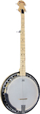 Ashbury AB-65 5 string Banjo, Electro, Maple