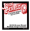 John Pearse 1720M 5 String Banjo, Medium, Bronze