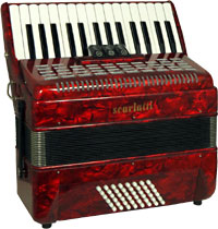 Scarlatti Piano Accordion, 48 Bass. 2v