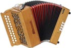 Sherwood Shire III G/C Melodeon, Cagnoni Reeds