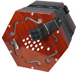 Scarlatti SCE-30 English Concertina, 30 Key