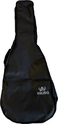 Ashbury Std Classic Guitar Bag, 1/2