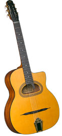 Cigano GJ-15 Gypsy Jazz Guitar, D Hole
