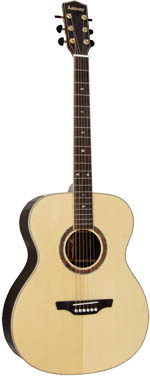 Ashbury AG-160 000 Guitar, Solid Spruce Top