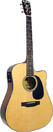 Blueridge BR-40CE Contemporary Guitar, Electro