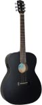 Ashbury AG-30 Electro Acoustic Guitar, Black