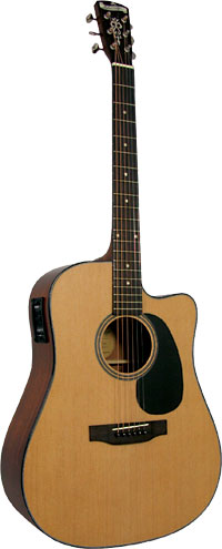 Blueridge BR-40CE Dreadnought Guitar, Electro