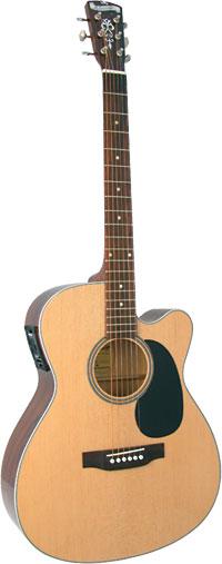 Blueridge BR-63CE 000 Guitar, Electro