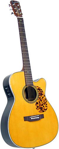 Blueridge BR-163CE 000 Size Guitar, Electro