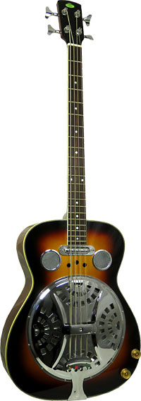 Regal RD-05 Resonator Bass Guitar, Electro