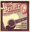 John Pearse 100XL Guitar Set, Ex Light, Bronze
