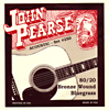 John Pearse 250 Bluegrass Guitar Set, G Tuning