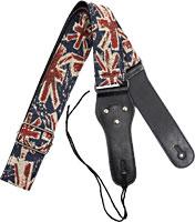 Viking VGS-54 Woven Guitar Strap. UK Funky