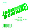 John Pearse Phosphor bronze ball end .020