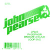 John Pearse Phosphor bronze loop end .023