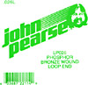 John Pearse Phosphor bronze loop end .026