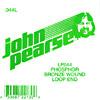 John Pearse Phosphor bronze loop end .044