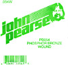 John Pearse Phosphor bronze ball end .054