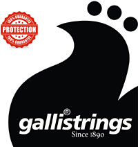 Galli PL011 LE Plain Loop End String .011