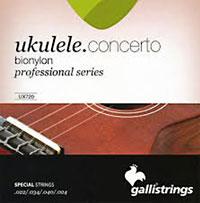 Galli UX-720 Uke Strings, Concert BioNylon