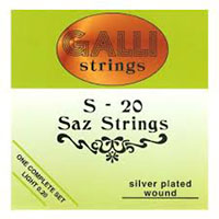 Galli S-20 Saz String Set