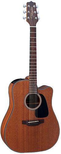 Takamine GD11MCE Dreadnought Cutaway, Natural