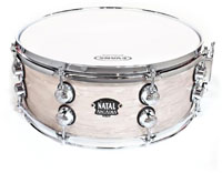 Natal Drums 14inchx6.5 Steel Snare Drum