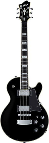 Hagstrom Guitars Super Swede Electric Guitar, Blackburst