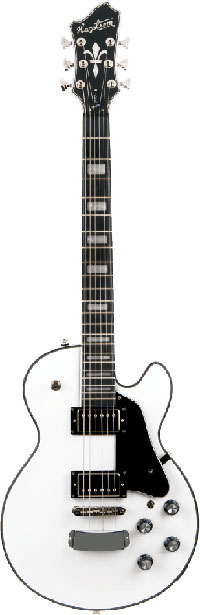 Hagstrom Guitars Super Swede Electric Guitar, White