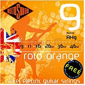 Rotosound RH9 Roto Orange Elec Guitar Set