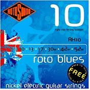 Rotosound RH10 Roto Blues Electric Guitar Set