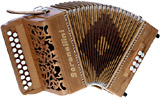 Serenellini Lady D/G Melodeon, 3 voice