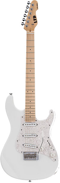 Ltd Electric Guitars SN-200W Electric Guitar, Snow White