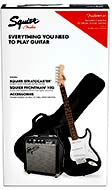 Squier Stratocaster Guitar Pack, Black