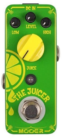 Mooer MOD3 The Juicer Overdrive Pedal