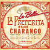 La Bella Charango Strings, Clear Nylon